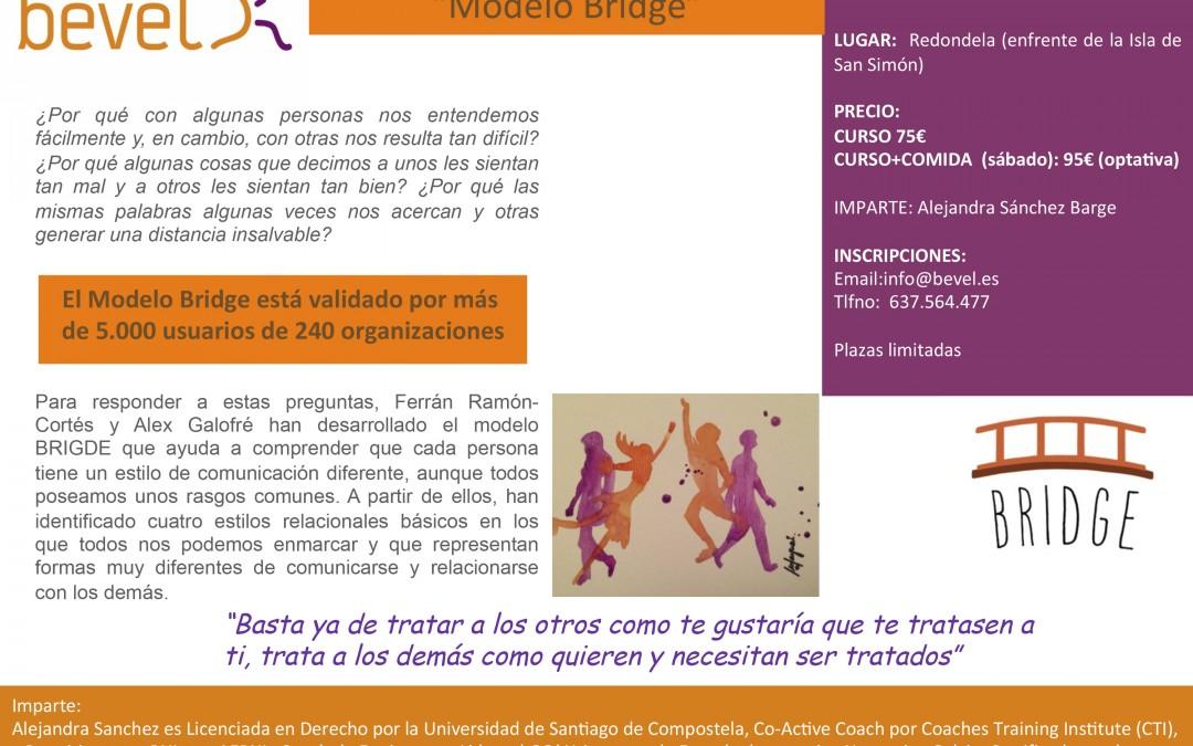 Curso de Bridge, novedoso modelo de Comunicación Relacional en Redondela (21 de mayo)