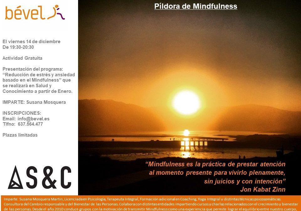 Te invitamos a una actividad gratuita de Mindfulness para acabar el año.